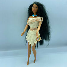 Mattel Barbie Girl Doll Native American Outfit Pocahontas Indian 12 In Clothed