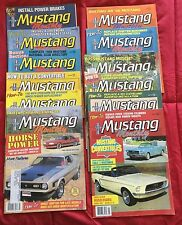 Mustang Monthly 1988 12 Full Months Features 60's & 70's How-to Specials