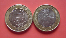 Brazil 1998 Universal Declaration of Human Rights Real Bi-metallic Coin UNC