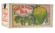 Mlesna Wooden Box Soursop, Strawberry Tea, Ginger Tea, Jasmine Tea 100g
