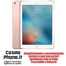 iPad Pro 128gb 9.7 Wifi pink rosa GRADO B usato con garanzia e accessori