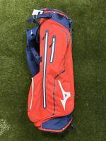 Mizuno K1-Lo Ultra Lightweight Carry Stand Golf Bag Red Navy White BRAND NEW!!