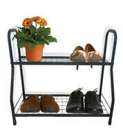 Quality Steady 2 Tier Plant Stand Pot Rack Garden Flower Display Shelf Storage