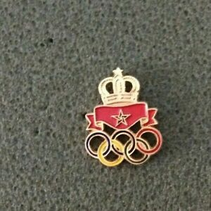 TOKYO 2020 OLYMPIC GAMES  NOC MAROCCO  SMALL  PIN
