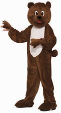 Plush Brown Bear Mascot Child Boys Girls Costume NEW