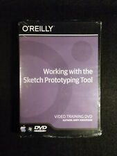 Working With The Sketch Prototype Tool (DVD, 2017) O'Reilly Video Training NEW!