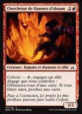 MTG Magic OGW FOIL - Akoum Flameseeker/Chercheuse de flammes d'Akoum, French/VF