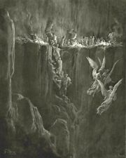DANTE.Here Rocky precipice hurls forth redundant flames;rim blast up-blown 1893