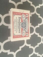 Vintage Sealed Budweiser Beer Deck of Playing Cards