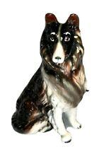 Euc Vtg Tilso Japan German Shepherd Collie Dog Statue Figurine Hand painted