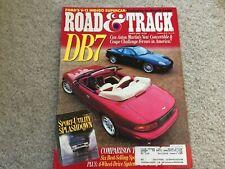1996 Rodeo, Blazer, Explorer, Grand Cherokee, Pathfinder, 4Runner  Magazine