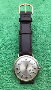 Longines Mystery Dial Automatic Men's Watch 10K GF Wristwatch