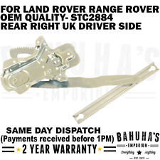 WINDOW REGULATOR- FOR LAND ROVER RANGE ROVER DISCOVERY/ CLASSIC REAR RIGHT SIDE