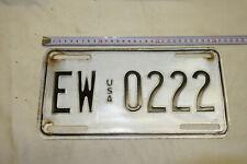 PM87: Nummernschilder Sammlung Auflösung Raritäten EW USA