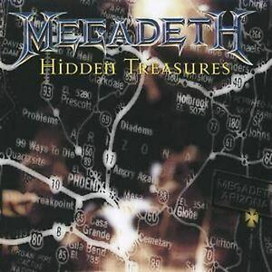 Hidden Treasures Megadeth CD NEW