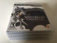 White Knight Chronicles -- International Edition (Sony PlayStation 3, 2010) NEW