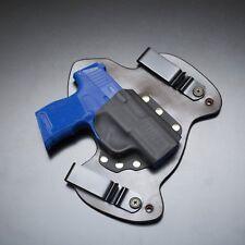 Sig Sauer P365 Black Leather Gun Holster