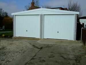 APEX ROOF DOUBLE CONCRETE GARAGE - SPECIAL OFFER PACKAGE