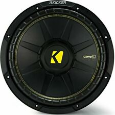 "KICKER 44CWCD124 12"" 600W Dual 4 Ohms Car Subwoofer"