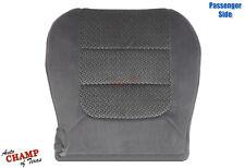 2003 Ford F150 XLT Super-Crew -Passenger Side Bottom Cloth Seat Cover Dark Gray