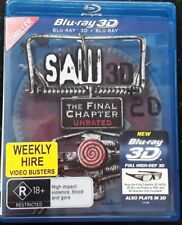 Saw -The Final Chapter 3D + 2D   (Blu-ray: B - 2011)