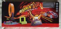 Slix Burn Up Stunt Track Set - with Push n Go Car - Fun Set Boys Toy