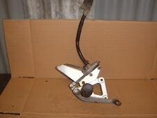 suzuki gs500 2003 o/s foot hanger+rear brake master cylinder
