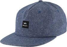 RVCA Ingston Mens Hat (NEW) Five 5 Panel VA BLUE CAP Ruca Headwear Free Shipping