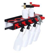 Spray Bottle Storage Rack Abrasive Material Hanging Rail Car Beauty Shop A V8K9