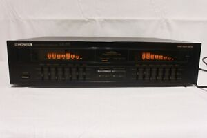 PIONEER GR-555, 7 band,  graphic equalizer. (ref E 269)