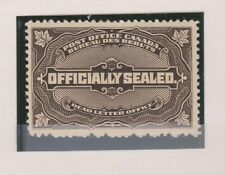 Canada OX4 OFFICIALLY SEALED 1913 mint, light hinged