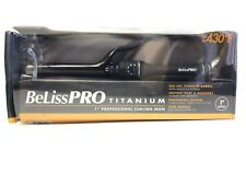 "BaByliss Pro Titanium 1"" PROFESSIONAL Curling Iron Up To 430 F"