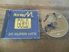CD Pop Boney M - Gold : 20 Super Hits (20 Song) BMG MCI / Club Edition jc