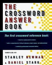 The Crossword Answer Book by Newman, Stanley