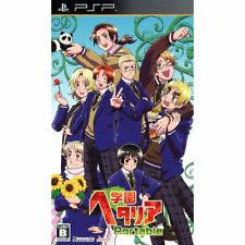 Gakuen Hetalia Portable  Sony Playstation Portable PSP NTSC-J ANIME / MANGA GAME