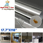 Stainless Steel Silver Contact Paper Vinyl Self Adhesive Film Appliances Kitchen photo