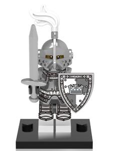 NEW Mini figure HEROIC CROWN Knight Series Minifigure UK STOCK