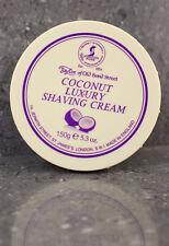Taylor of Old Bond Street Coconut Luxury Shaving Cream Bowl Foam 150g Pot