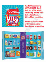 Little Shop series One - 2018 issue - Full Set of 30 + NEW Case + FREE postage