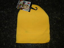 Fluorescent Neon Gold Beanie Knit Stocking Cap Skully Winter Hat Thermo Wear