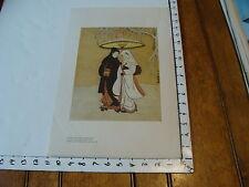 me museum of art poster: SUZUKI HARUNOBU crow & heron-lovers in a snow storm