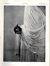 1932 Publicite Parfums LANVIN
