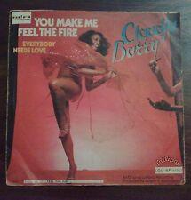 DISCO 45 GIRI CLAUDJA BARRY - YOU MAKE ME/FEEL THE FIRE - LOLLIPOP 1979 VG+/GD+