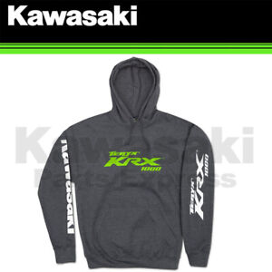NEW GENUINE X-LARGE KAWASAKI TERYX KRX® 1000 PULLOVER HOODED SWEATSHIRT