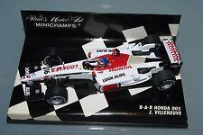 Minichamps F1 1/43 BAR HONDA 005 JACQUES VILLENEUVE