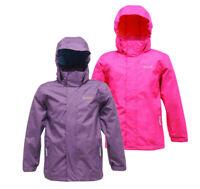Regatta Ferdie Girls Lightweight Waterproof Breathable Lined Shell Jacket