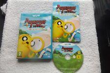 Adventure Time Finn & Jake investigaciones NINTENDO Wii U v.g.c. Rápido Post