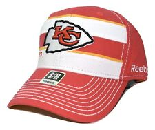 049275cb35d8b Kansas City Chiefs Reebok NFL Football Scrimmage Stretch Fit Cap Hat  Small med