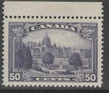 Canada SG350 1935 50c Deep Violet MTD Nuovo di zecca