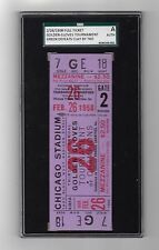 1958 Cassius Clay Muhammad Ali Only Amateur KO Loss Full Ticket